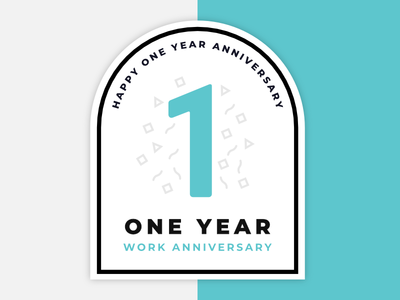 Work Anniversary Badge