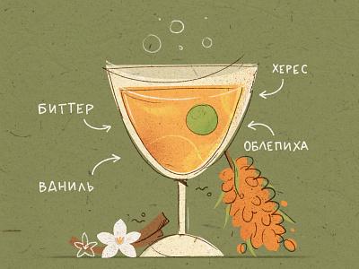 Drink! иллюстрация character girl character book illustration background illustration animation illustration