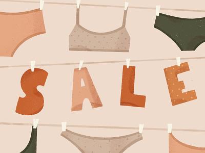 Sale! girl character book illustration background illustration animation illustration