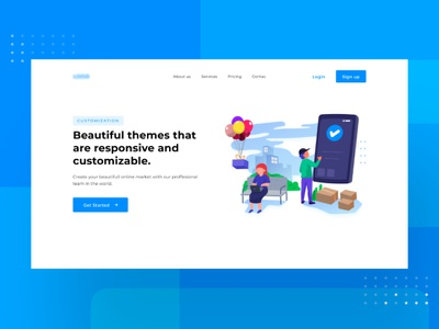 e-commerce icon charachter work web character ui flat design dribbble illustration ecommerce