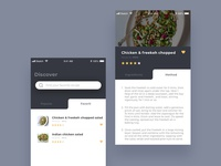 Daily Ui #040 Recipe