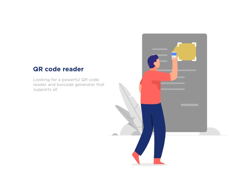 QR code Reader by mursyid uchy on Dribbble
