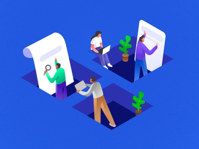 Team work | isometric illustration vector charachter ui isometric isometric illustration web character flat design dribbble illustration