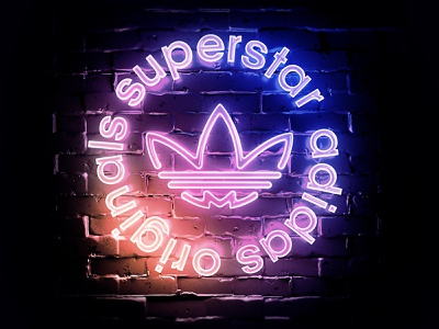 Adidas superstar presentation 3d