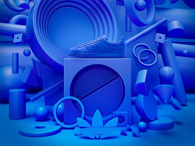 Adidas superstar presentation design branding illustration colors adidas originals 3d