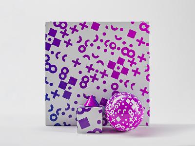 violet geometric pattern vector contrast color geometric illustration colors design 3d
