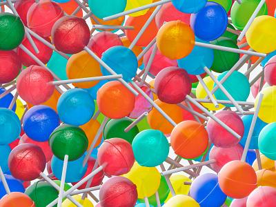 Lollipop sweet filling lollipop sweet lollipop illustration colors design 3d