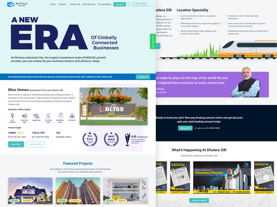 Real Estate Website Design website real estate design clean ui