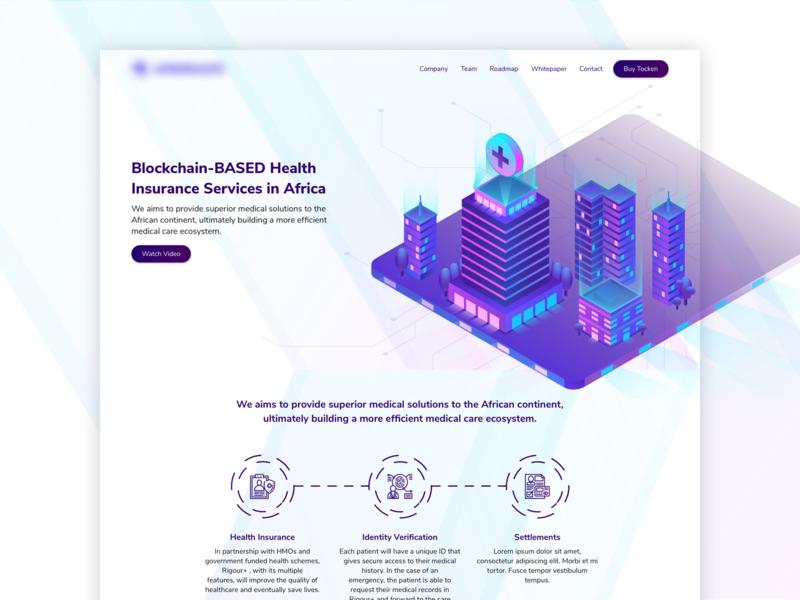 Blockchain-Based Health Insurance Website