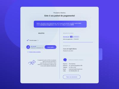 Renegocie.me - Payment panel