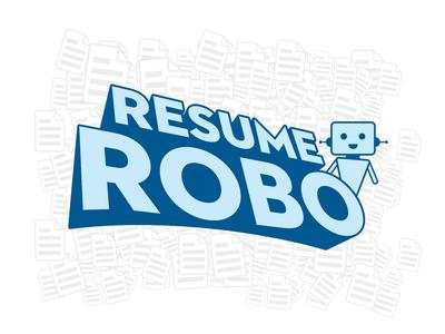 Resume Robo Logo Design