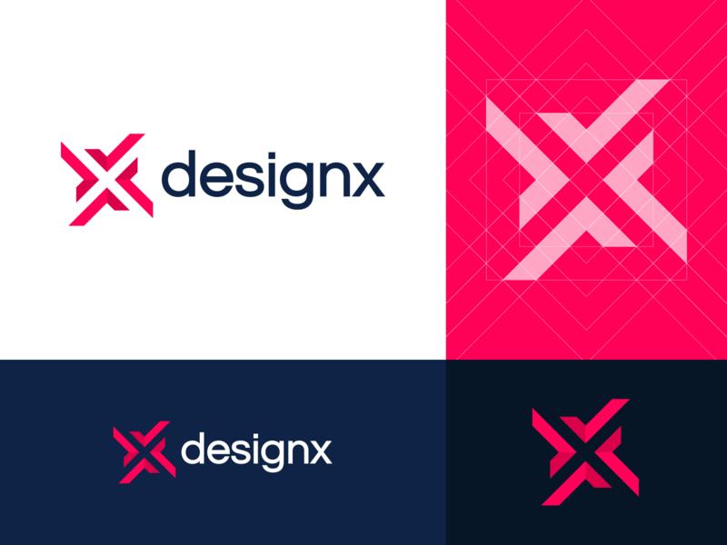 DesignX Logo typography branding logo design visual design design process graphic design inspiration illustration design technique