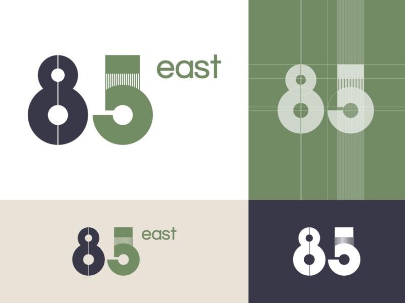 85 East business identity logo design logo design visual design design process graphic design inspiration illustration design technique