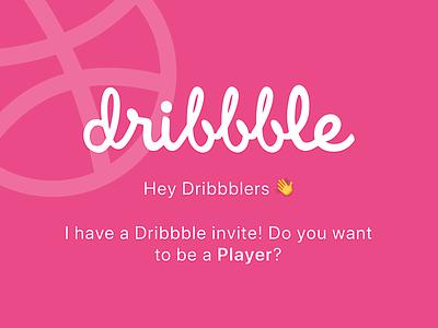 Dribbble Invite dribbble invitation dribbble best shot dribbble invites dribbble invite design visual design design process graphic design inspiration illustration design technique