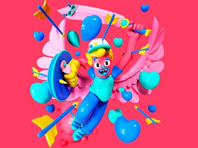 Hero hero cgi fun kids character design render 3d design character illustration