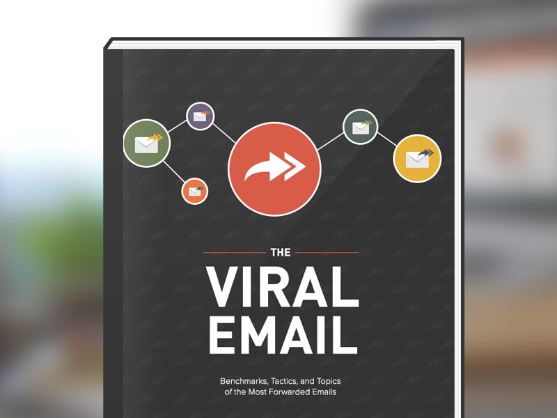 [Ebook] The Viral Email Report data visualization graphs charts viral report ebook litmus