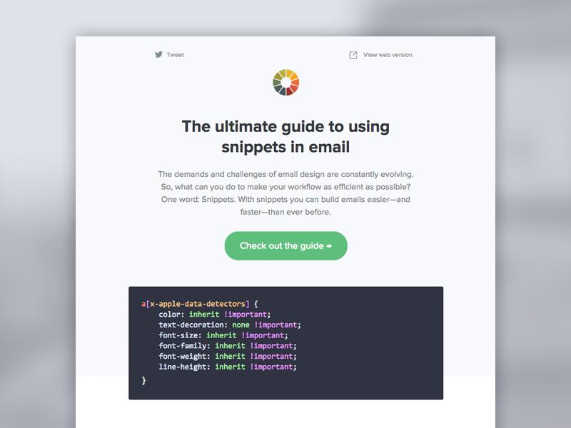 [Email] Litmus Newsletter December 2015 email development email design newsletter email newsletter email litmus