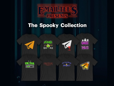 EmailTees Presents The Spooky Collection email newsletter html email newsletter responsive email email development email design email emailtees