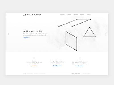 Web Design clean design minimal design web design mexico construction construction materials