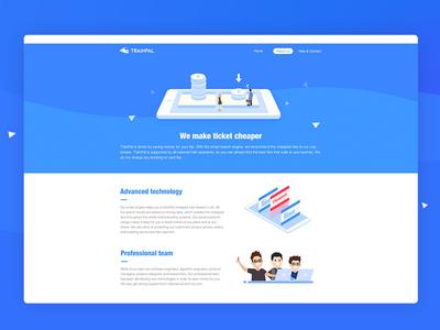 Website designed for work