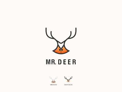 Mr.Deer modern logo design art logo list logo list logoplace logoinspiration logoidea logo mark logotype art direction artwork lineart modernism modern logo animal logo animal animal art deer illustration deers deer logo deer head