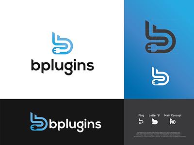 Plug-in logo branding logoinspiration monogram logo logodesign logo mark lettermark logo logotype