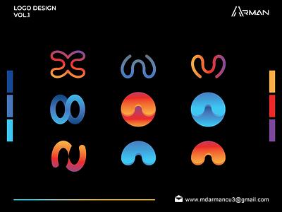 Logo design vol.1 logo bundle logodesign vol 2d logo modern logo letter logo letters lettern letterm letterw letter x iconic logo mark monogram logo logo logoinspiration lettermark logotype logo design logo collection