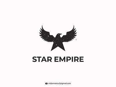 Start Eagle starempire emblem design illustration iconic logo monogram logo logo logo mark logoinspiration lettermark logodesign logotype entertainment eagle star concept star logo eagle logo