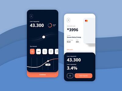 Credzilla : Credit card App UI ux ui app design creative clean creditcard credit card wallet finance credit cards mastercard visa credzilla credit card payment balance app navbar minimal mobile mobile app