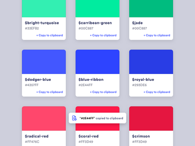 Colors pixel ui interface style guide styleguide style library colours colour colors color