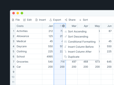 Data Table designs, themes, templates and downloadable graphic