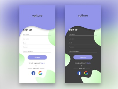 Sign up screen android ios mobile app vector ux design ui  ux design signup uxdesigner uidesigner uxdesign ui design design designer branding logo ux uiux ui