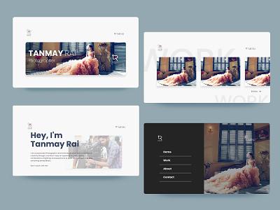 Portfolio website sample webdesign user experience userinterface user experience designer user interface designer uidesigner ui uiux ui design