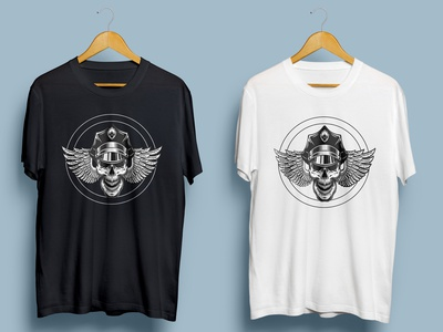 Custom t-shirt illustrator graphic design typography logo illustration design