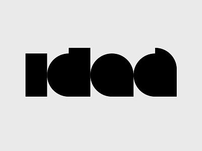 Idea geometric logo identity idea blog idea superfried