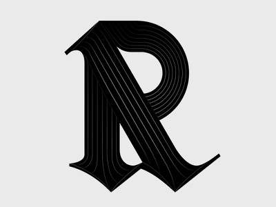 Blk Ltr Work In Progress 1 work in progress experimental type black letter superfried