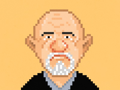 Mike from Breaking Bad breakingbad characterdesign illustraion pixel