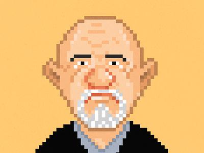 Mike from Breaking Bad breakingbad characterdesign illustraion pixel