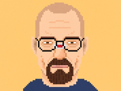 Say my name. breakingbad photoshop pixels design illustration characterdesign 8bitart pixelart
