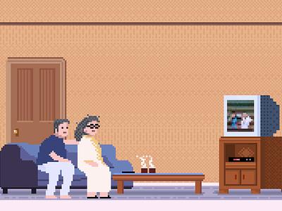 Family family design pixelartist pixel art characterdesign illustration 8bitart pixelart
