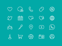 clean iconset