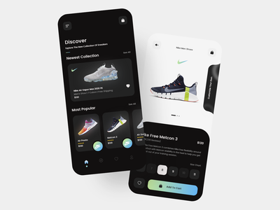 Shoe app 👟 ecommerce app store inspiration product design nike shoes shoe store shoes app ux minimalist clean trending minimal ecommerce app ui ux daily clean ui ui