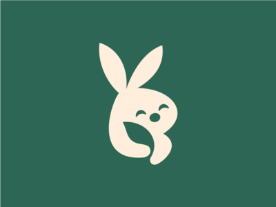 Leaf+Bunny - Negative Space