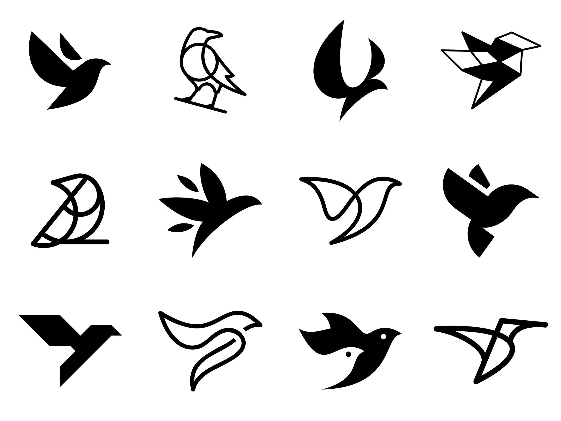 пишут картинки и символ в виде птицы для телефона, камеры
