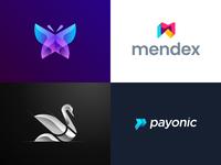 Top logos on Dribbble 2018