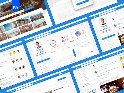 Lookeat - Webdesign design branding identity brand identity wireflow webdesign uiux ux ui sitemap process grid behance project behance application