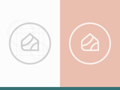 Ludily - Isotype v2 architecture geometry grid vector identity mark process sign diesgn icon interior design project logo isotype branding behance behance project behancereviews
