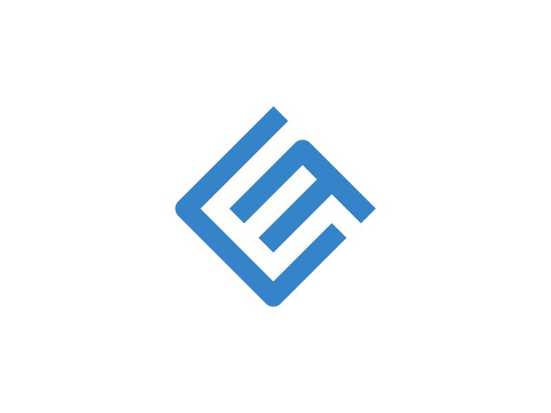 EF - Logo sketch sign process overlay monogram mark logo lettering identity grid geometry ef