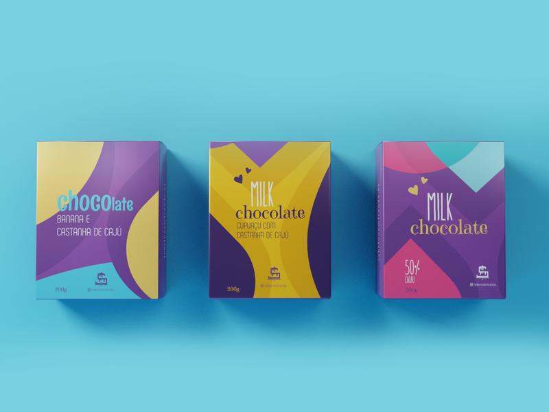 Sabrinne Miranda — Cake Designer mockups mockup digital art digitalart sweets sweet chocolate design branding brand logo blender 3d blender3d blender packaging design packaging package