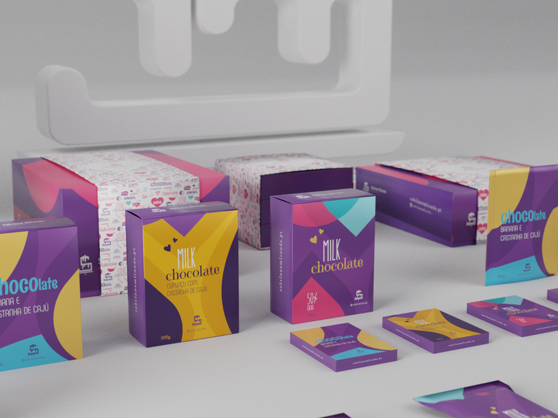 Sabrinne Miranda — Cake Designer marca packaging design packaging package blender 3d mockups mockup brand design branding brand logo